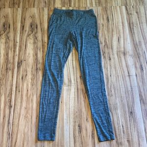 Green and Gray marble, Express Leggings, XS